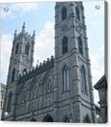 Basilique Notre Dame Acrylic Print