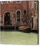 Basin in Venice Acrylic Print