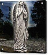 Bask In His Glory Acrylic Print