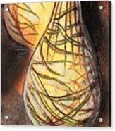 Basket Light Yellow Glow Acrylic Print