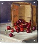 Basket Of Cherries Acrylic Print