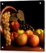 Basket Of Fruit Acrylic Print by Tom Mc Nemar