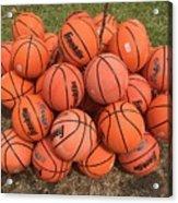 Basketbal Anyone Acrylic Print