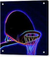 Basketball 121617-1 Acrylic Print