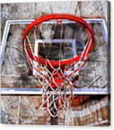 Basketball Art Version 28 Acrylic Print