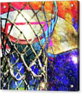 Basketball Artwork Version 179 Acrylic Print