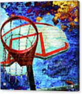 Basketball Dream Acrylic Print
