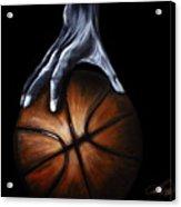 Basketball Legend Acrylic Print