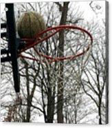 Basketball Practice Acrylic Print