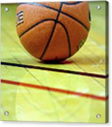 Basketball Reflections Acrylic Print by Alan Look