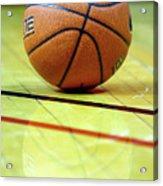 Basketball Reflections Acrylic Print