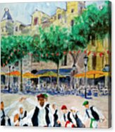 Basque Country Dancing Acrylic Print