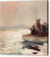 Bass Fishing In Florida Acrylic Print