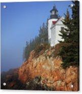Bass Harbor Lighthouse, Acadia National Park Acrylic Print