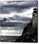 Bass Harbor Lighthouse In Acadia Np Acrylic Print