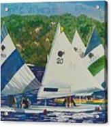 Bass Lake Races  Acrylic Print