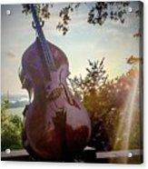 Bass Rhythm And Sound Of A Community  Acrylic Print