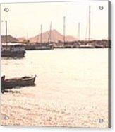 Basseterre Harbour Acrylic Print