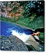 Bassin Blue - Jacmel Haiti Acrylic Print