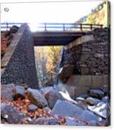 Bastion Falls Bridge 5 Acrylic Print