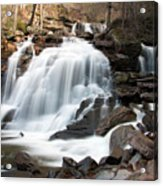 Bastion Falls In April Acrylic Print