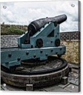 Bastion Gun Acrylic Print
