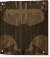 Bat Brown  Acrylic Print