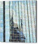 Bat Tower Reflected Acrylic Print