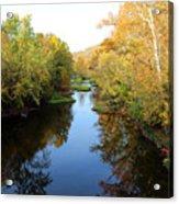 Batavia, Ohio Creek - Other Side Vertical Acrylic Print