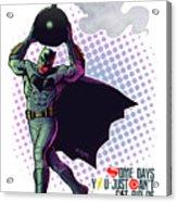 Batfleck And The Bomb 2 Acrylic Print
