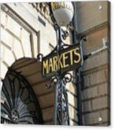 Bath - Market Acrylic Print