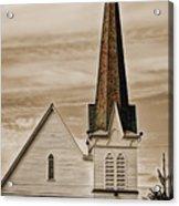 Bath Congregational Church Acrylic Print