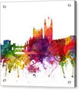 Bath England Cityscape 06 Acrylic Print