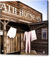 Bath House In Old Tucson Acrylic Print