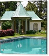 Chanticleer Bath House A Acrylic Print