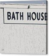 Bath House Acrylic Print