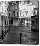 Bath Spa Acrylic Print by Trevor Wintle