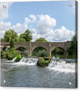 Bathampton Bridge Acrylic Print