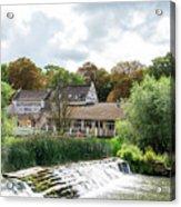 Bathampton Mill Acrylic Print