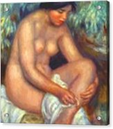 Bather Wiping A Wound 1909 Acrylic Print