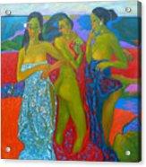 Bathing5 Acrylic Print