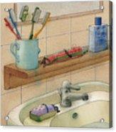 Bathroom Acrylic Print