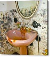 Bathroom Mold Acrylic Print