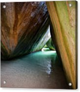 Baths At Virgin Gorda Acrylic Print