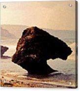 Bathsheba Rocks Acrylic Print