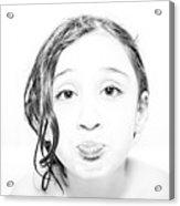 Bathtub Acrylic Print