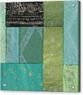Batik Sky Acrylic Print