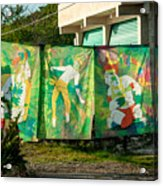 Batik Studio At Coba Village Acrylic Print