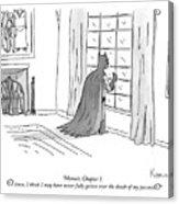 Batman Memoir Chapter 1 Acrylic Print
