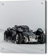 Batmobile Snowtour Acrylic Print